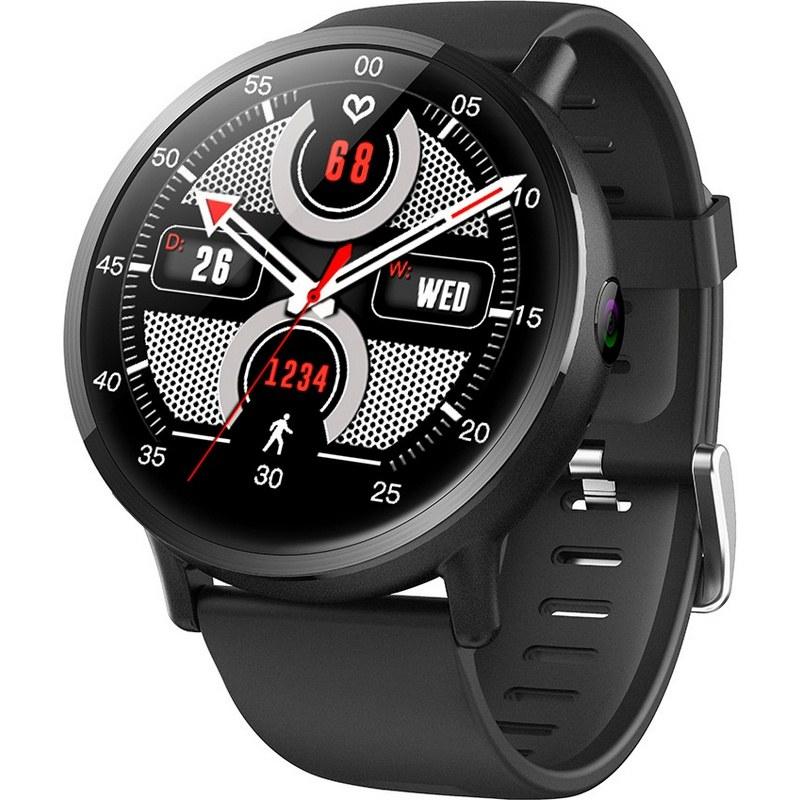 Смарт часы LEMFO LEM X 4G Black