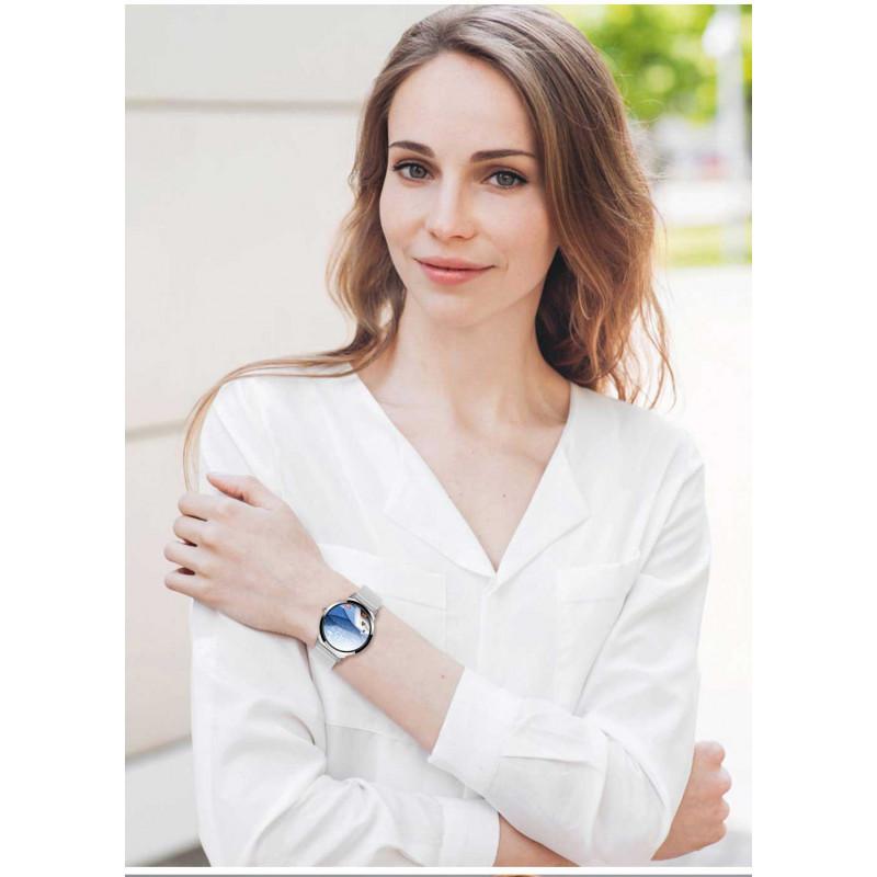 Смарт часы для женщин LEMFO H6 PRO Black Steel