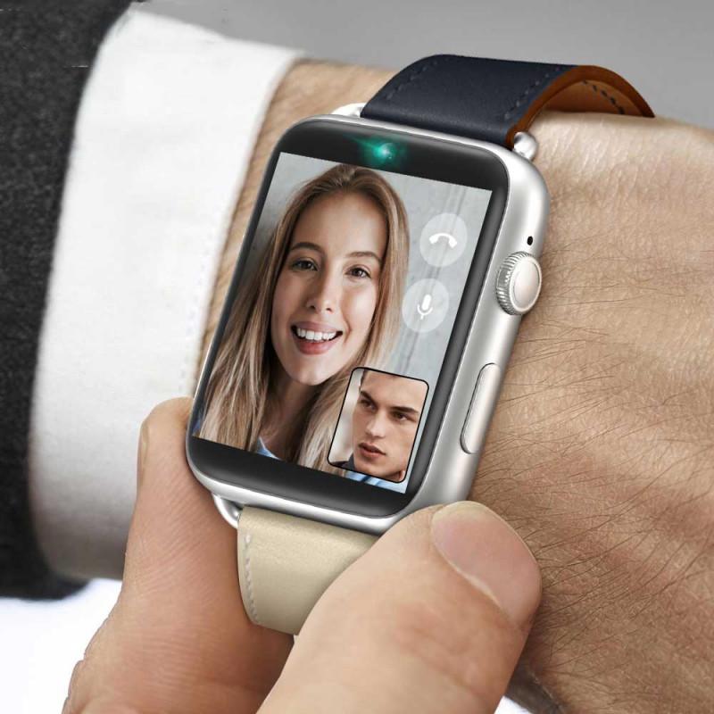 Умные часы LEMFO LEM10 4G Black Nylon Strap 1 GB