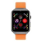 Умные часы LEMFO LEM10 4G Silver Orange Strap 1 GB