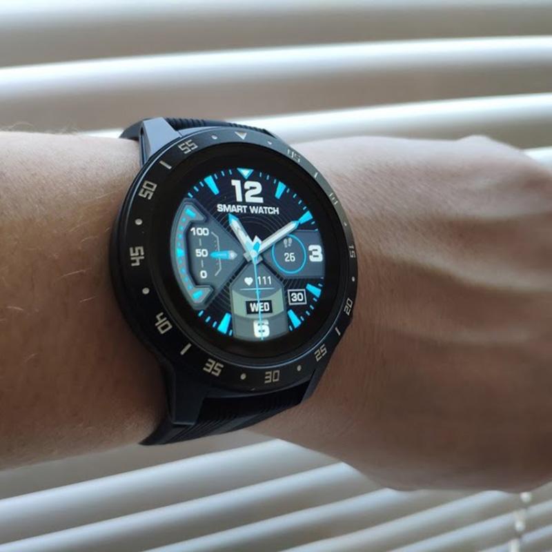 Смарт-часы LEMFO M5S с GPS и барометром Black