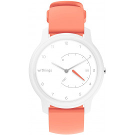 Умные часы Withings Move White-Coral Plastic Case