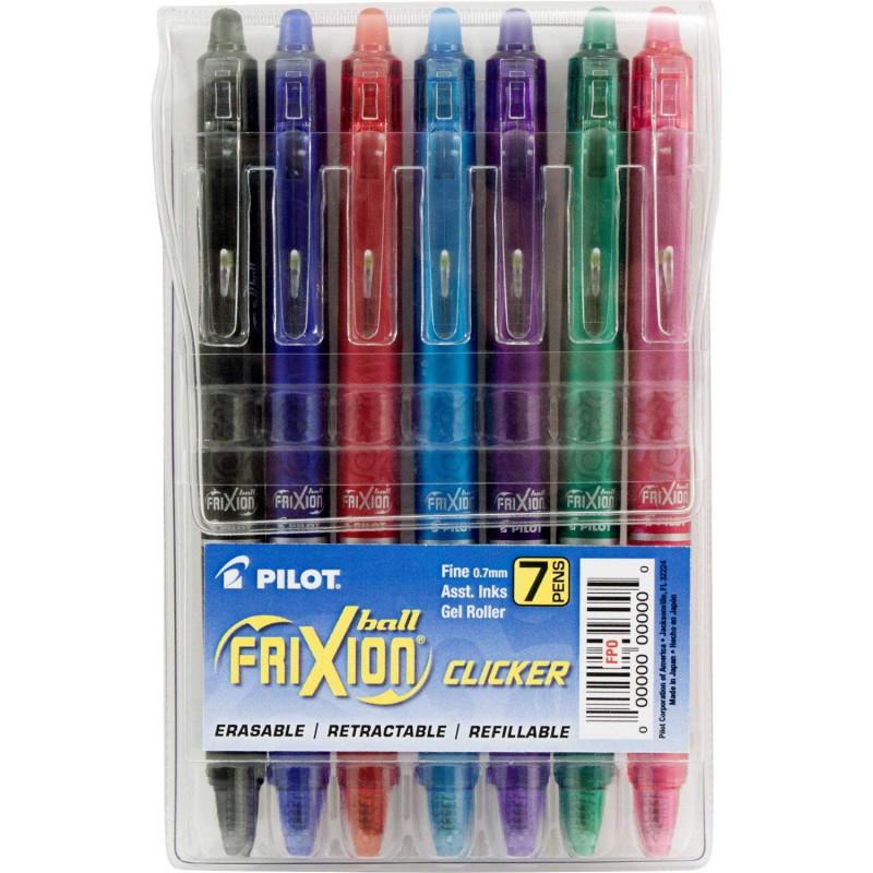 Ручки Pilot Frixion 7 штук