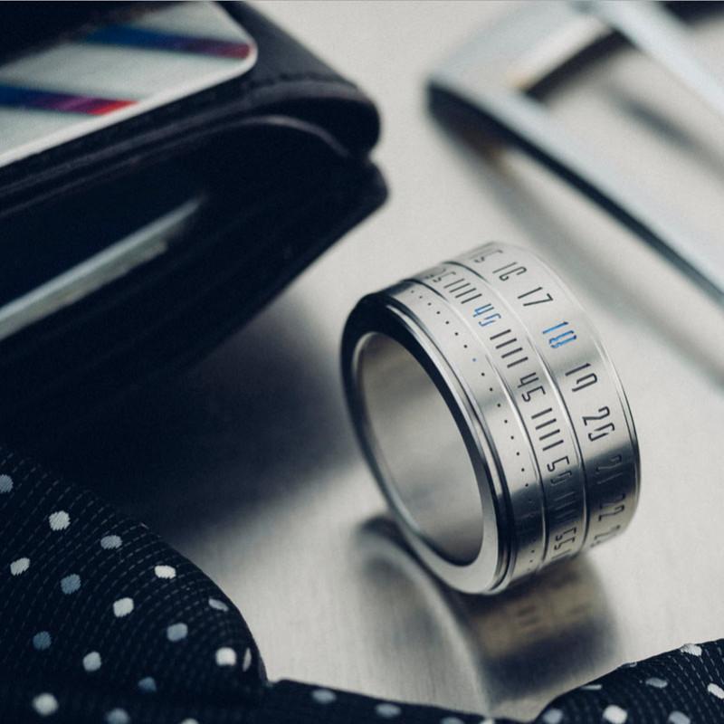 Умное кольцо Ring Clock