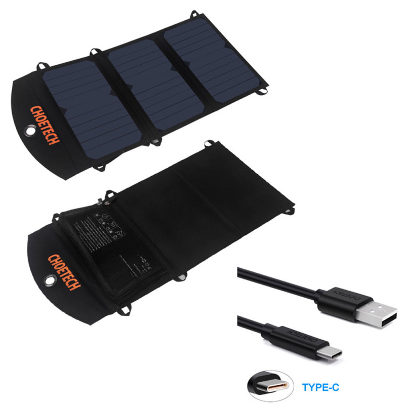 Солнечная зарядка CHOE USB 19W