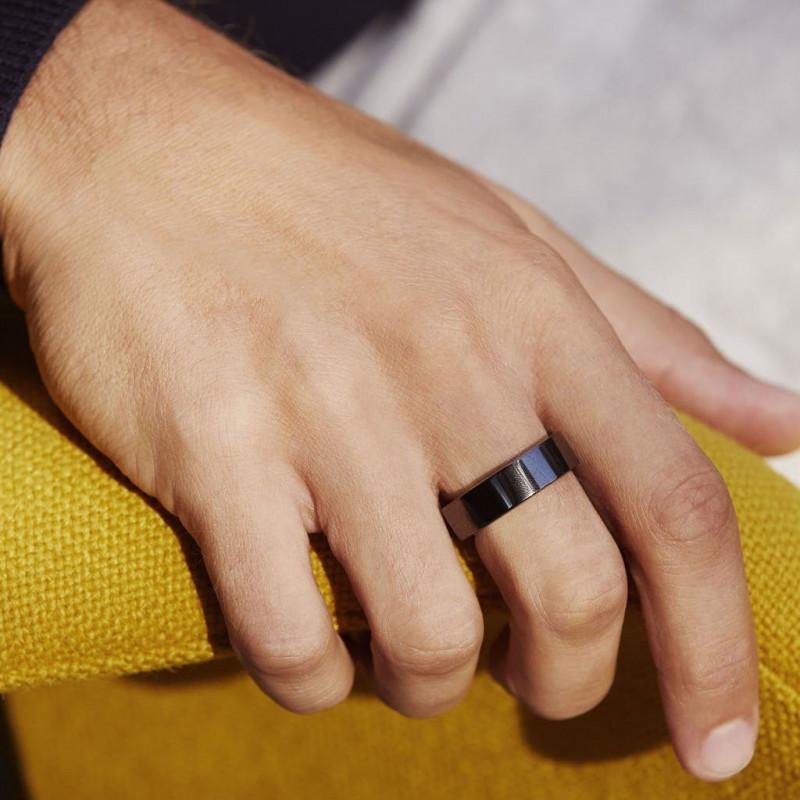 Умное кольцо Oura ring Black Balance - 12 size