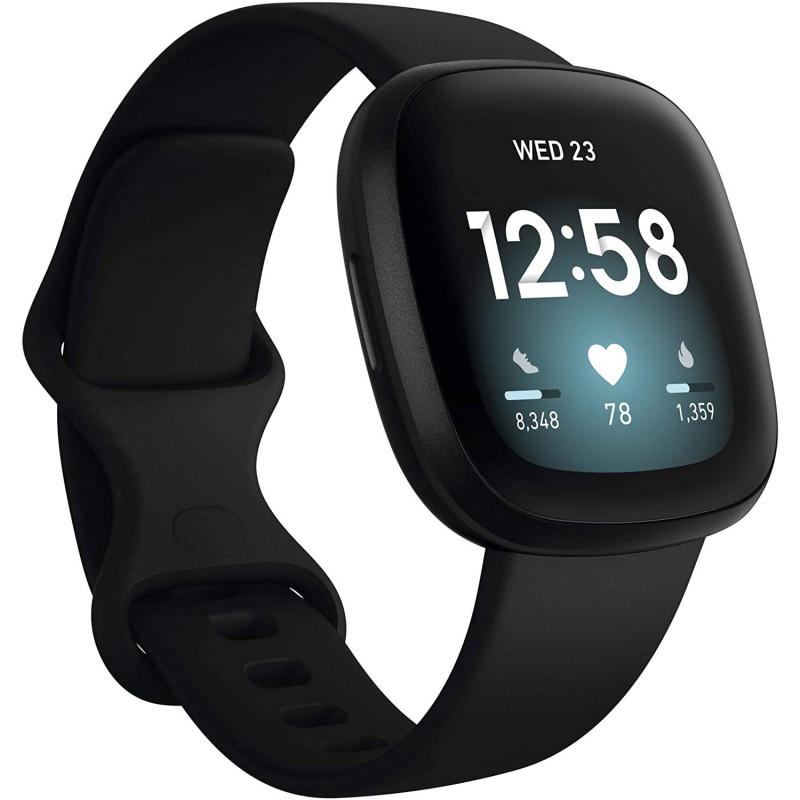 Фитнес-часы Fitbit Versa 3 Black