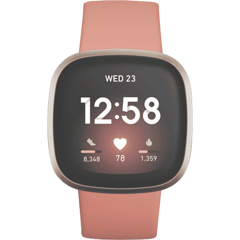 Фитнес-часы Fitbit Versa 3 Pink/Gold