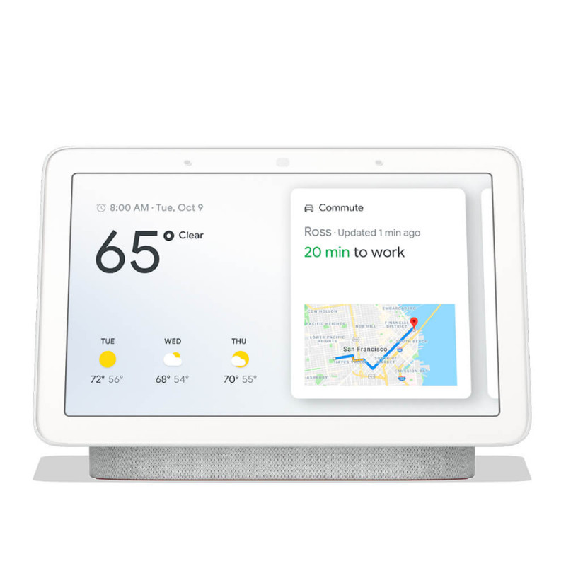 Контроллер Google Home Hub Assistant Chalk