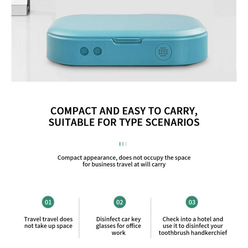 UV дезинфектор смартфона