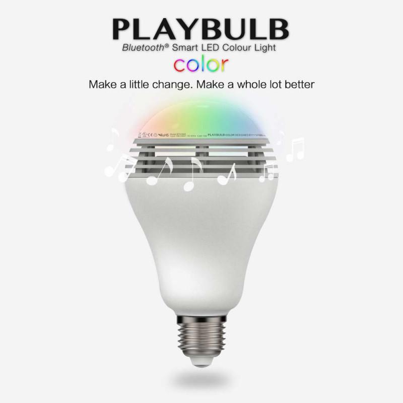 Смарт-лампочка с динамиком Mipow BTL100С RGB