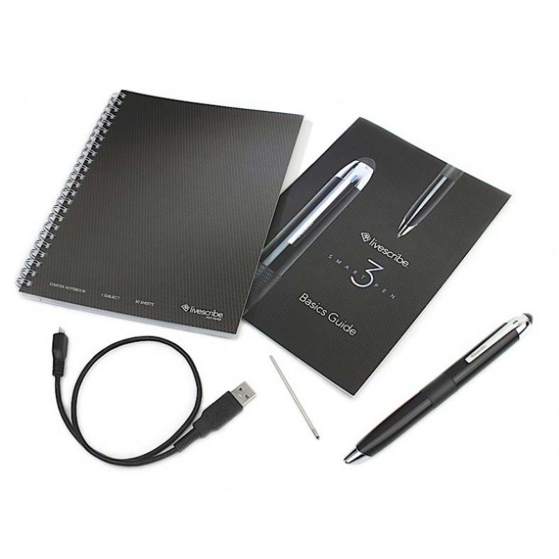 Умная ручка Livescribe 3 Black Edition