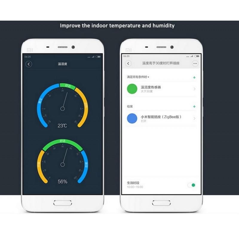 Датчик температуры и уровня влажности Mi Smart Home
